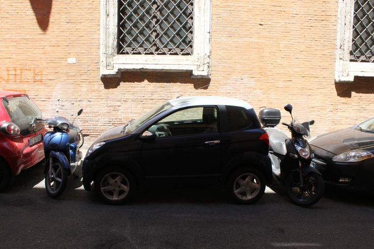 Parking in Rome...wouldn't go over well in Vancouver! Been...