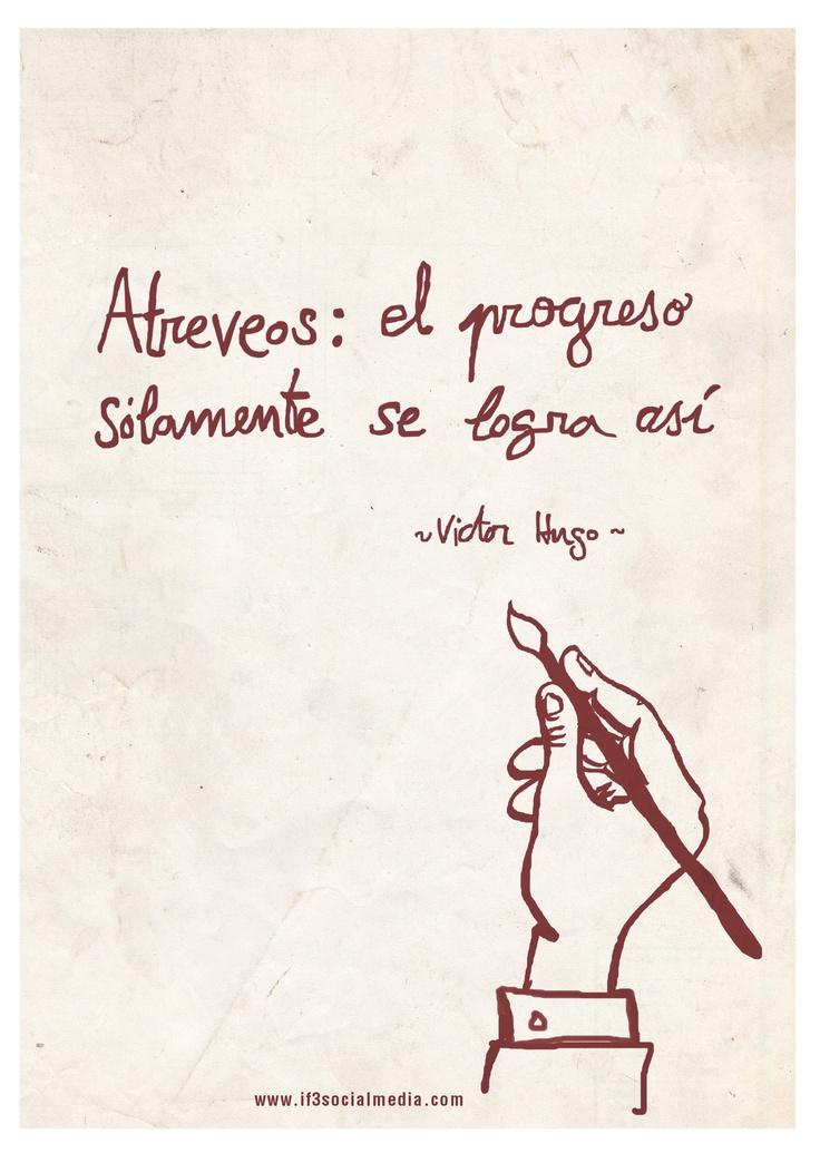 Víctor Hugo Quotes  www.if3socialmedia.com