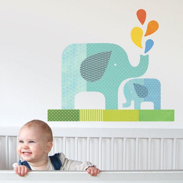 Baby boy room wall decor