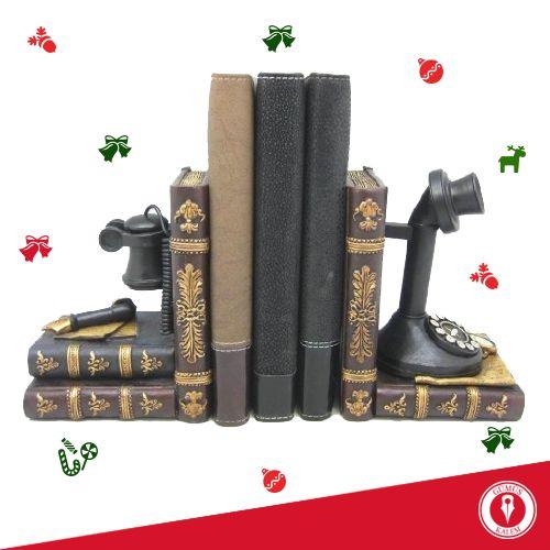 Yalnızca yeni yılda değil her zaman hatırlanmak istiyorum derseniz, dekoratif kitap tutucu ile bunu sağlayabilirsiniz :) www.gumuskalem.com.tr