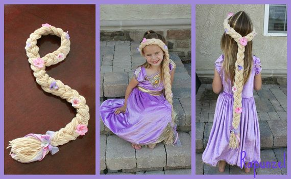 Hey, I found this really awesome Etsy listing at http://www.etsy.com/listing/98027151/rapunzel-dress-up-hair