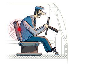 Seis consejos para prevenir la fatiga en la espalda al conducir