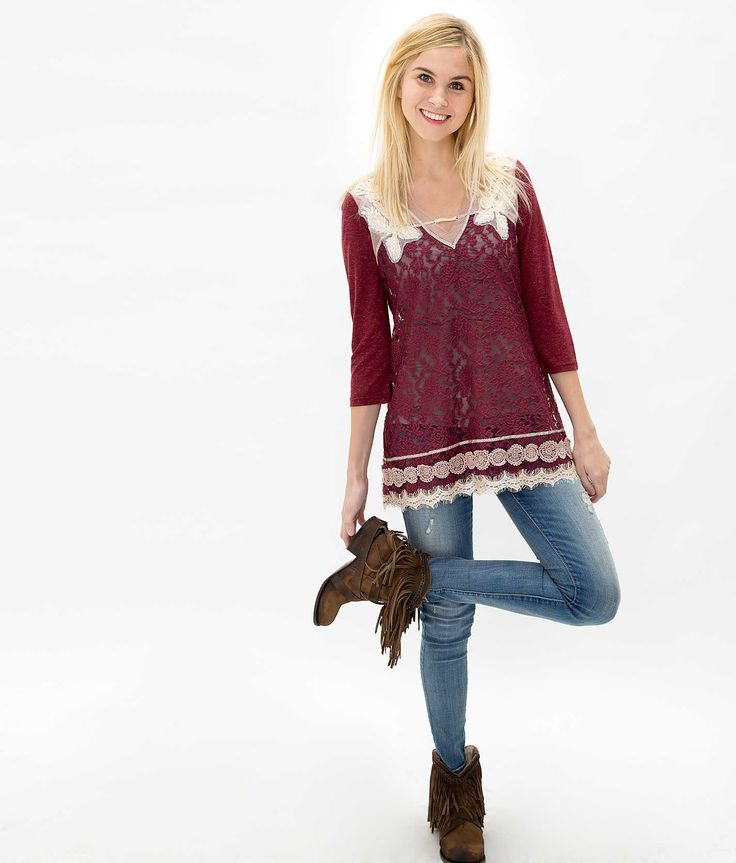 Gimmicks by BKE Lace Top | Buckle