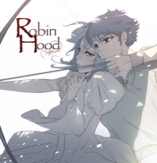 Disney Robin Hood Characters List | robin hood disney manga... Her artwork is georgous.