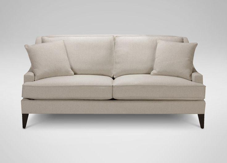 Ethan Allen Emerson Sofa Oatmeal Color Fabric Client S Own Langerman Kit Fr Pinterest
