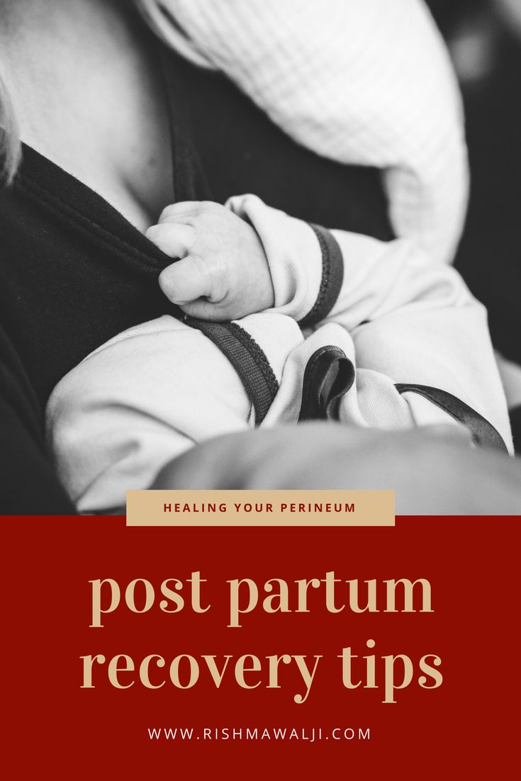 Natural ways to help you heal from labour and delivery. #postpartum #perineum #sitzbath #padsicles #newmom