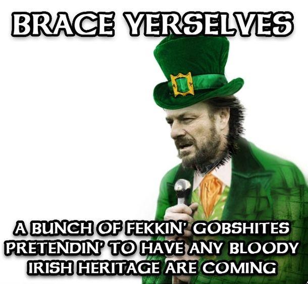 Saint Patricks day 2017 irish memes