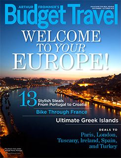 Of all the gorgeous images of Europe Budget Travel had to choose from, their editors picked Porto, Portugal with its elegantly meandering Douro River, for their 2013 September/October tablet edition cover!