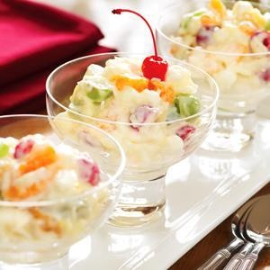 Fruit Ambrosia From Eagle Brand 174 Christmas Party And Dinner Ideas And Recipes Pinterest