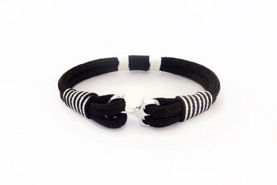 FREE SHIPPING, Anchor bracelet, Nautical bracelet, Men's Bracelet, Nautical Bracelet, Anchor Jewelry, paracord bracelets, Rope bracelet