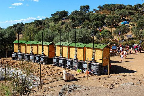 Eco-housing, sustainability and deep ecology - Boom festival 2014 - Heart of a Vagabond