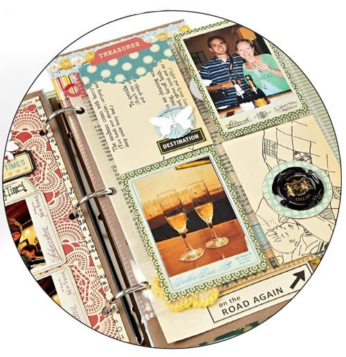 tips for making travel mini albums