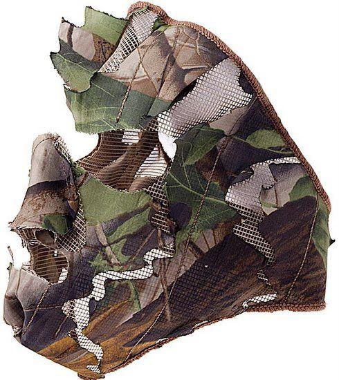 Maska 3D kamuflář WOOD