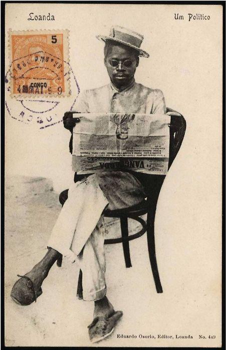 Eduardo Osorio, Editor, Loanda1910: Angolaportugu Angola, Angola Luanda, Um Politico, Africans Faces, Angola Pre, Envelopes Art, Angola Portugu, Mail Art, Eduardo Osorio