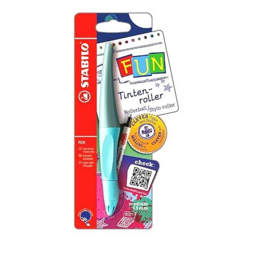 STABILO FUN Rollerball Ergonomic Pen 0.5 mm Blue Boy (9166-2)
