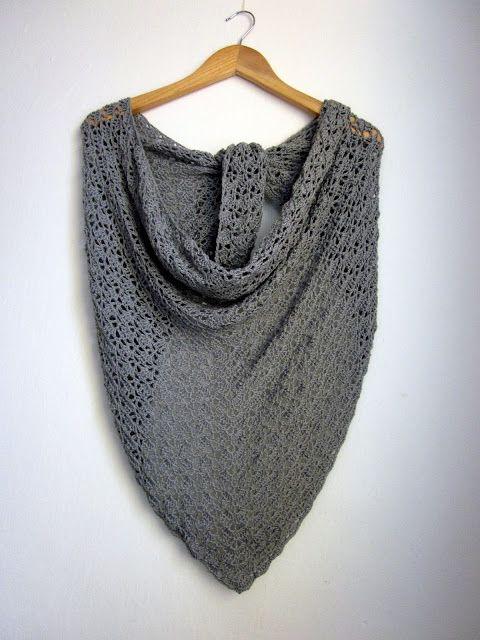Elise shawl   #crochet