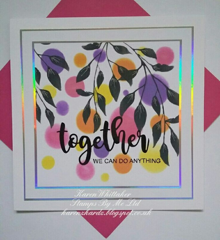 The gorgeous leafy Floral Splendor stencil from Stamps By Me  #stampsbyme #dtsample #floralsplendor #stencil #distressoxides #creative #craft #ilovetocraft #creativity #karenzkardz