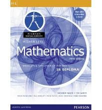 Pearson Baccalaureate Higher Level Mathematics Print and Online Edition for the…