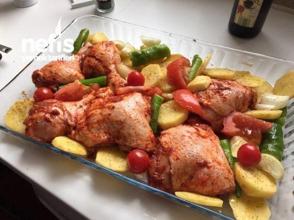 Fırında Tavuk But