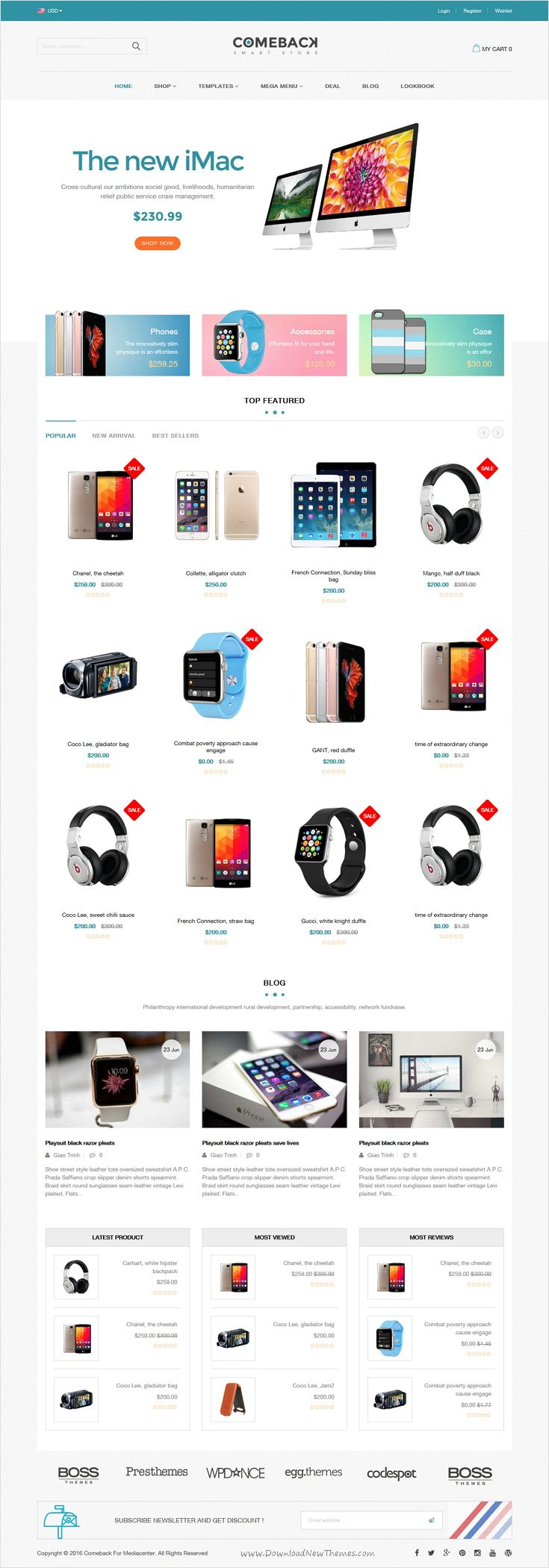 Comeback is a advanced #Shopify Theme for stunning #electronics #store eCommerce website with Drag and Drop Page Builders and 10+ multipurpose homepage layouts download now➩ https://themeforest.net/item/comeback-advanced-shopify-theme-option-drag-and-drop-page-builders/17729663?ref=Datasata
