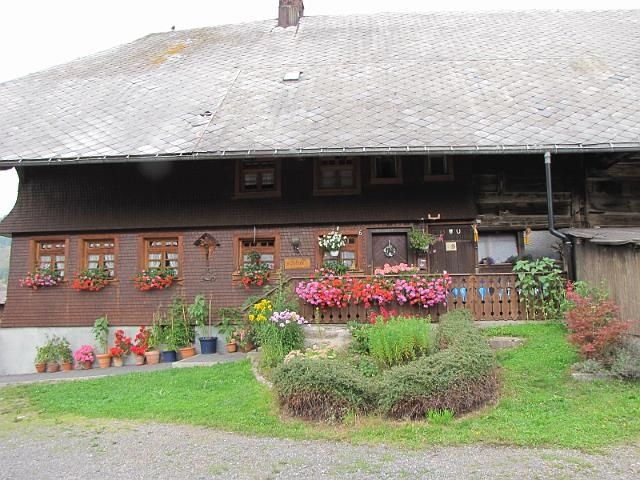 Typical Black Forest house in Menzenschwand