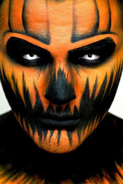 Unbelievable Halloween makeup for men!!  #Halloween #Costumes #HalloweenCostumesForFamily Sherman Financial Group