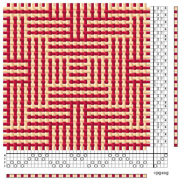 patronen weven op 8-schachts weefgetouw - Google zoeken