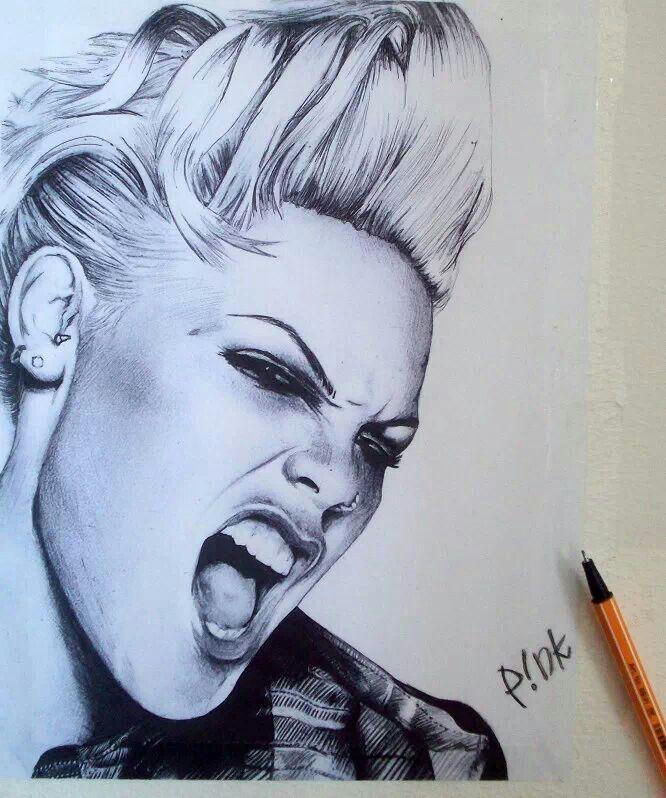 Artist Drawn, of PiNk Singer