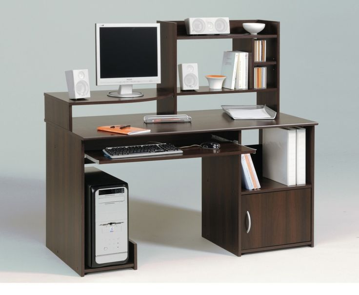 computer table designs for office. enticing cool computer table design with dark brown wooden laminate desk fitted bookshelf on the designs for office g