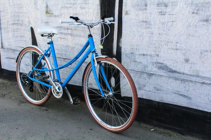 This custom bicycle was build to resist the urban jungle.