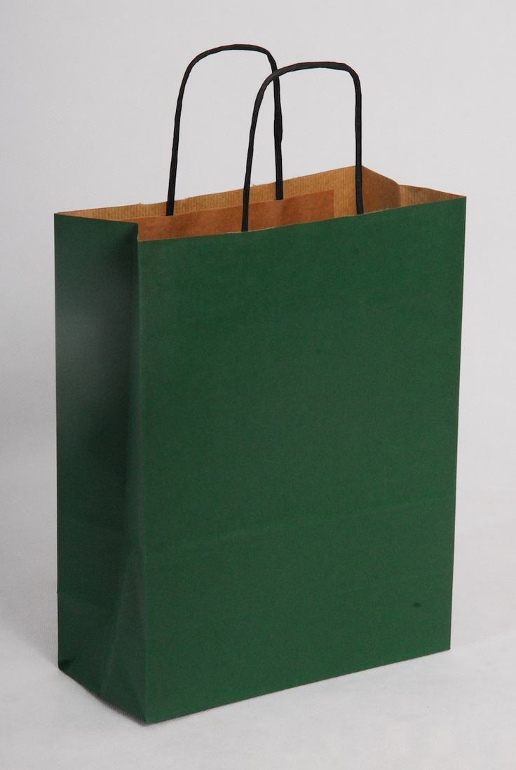 Green Carrier Bags. St Patrick's Day