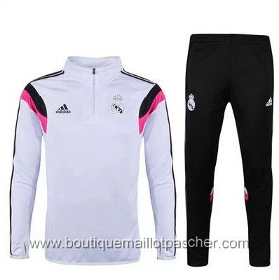 Survêtement de foot Adidas formation Real Madrid Blanc