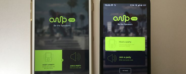 AmpMe, an app to create a giant speaker with your tablets and phones