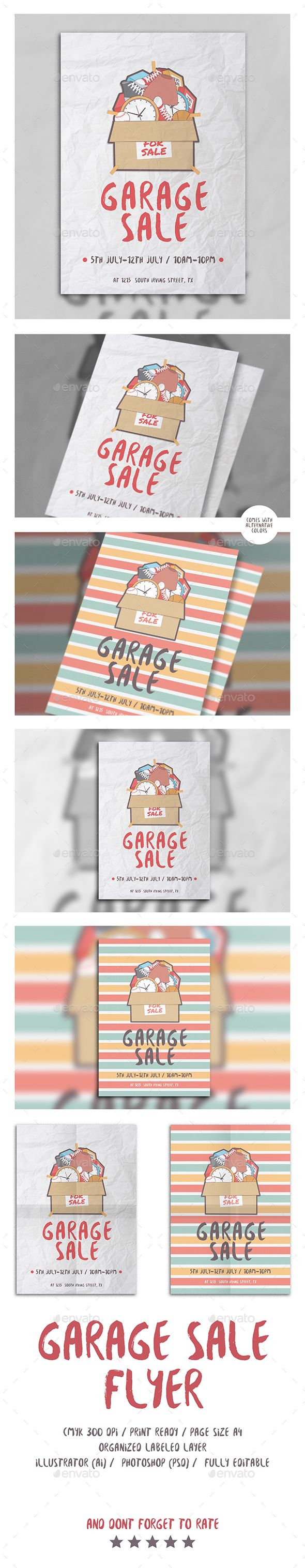 13 best market images on Pinterest | Garage, Flyers and Graphic ...