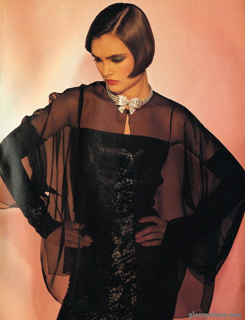 'A New Number for Chanel' from…………….British Vogue June 1983 feat Talisa Soto