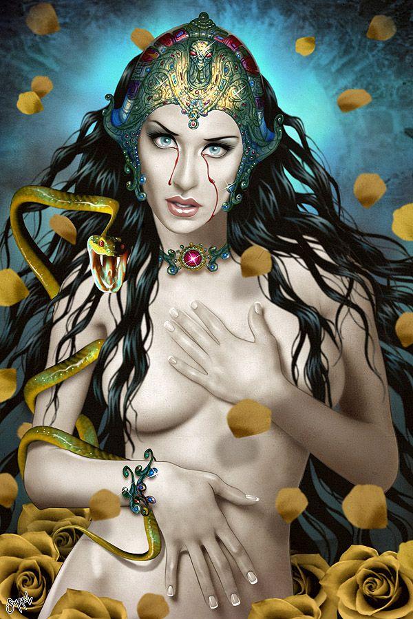 Art by Ismael Alvarez. Monica Naranjo