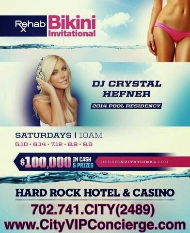 Bikini Invitational Round 4 Saturday August 9th at REHAB Las Vegas. Contact 702.741.2489 City VIP Concierge for Cabanas, Daybeds, Bungalows and the BEST of Las Vegas Pool Parties!!! #REHABlasvegas #VegasPoolParties #VegasCabanas #LasVegasPoolParties #CityVIPConcierge CALL OR CLICK TO BOOK www.VegasCabanas.com