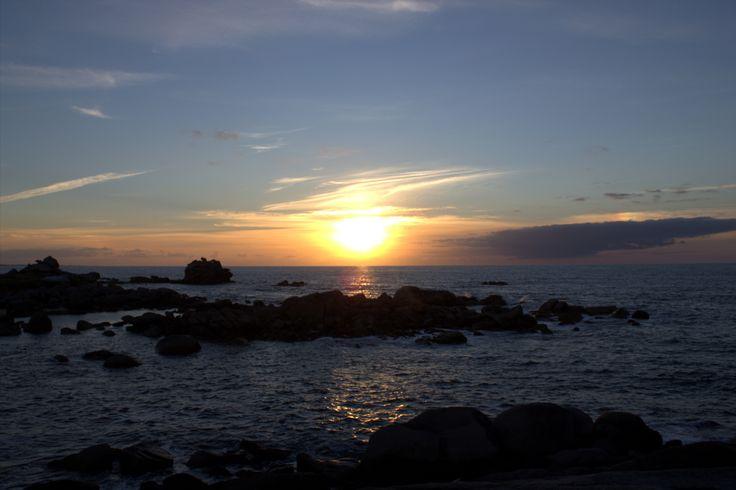 https://flic.kr/p/fL4nTv | Sunset near Plouescat | Bretagne 2013