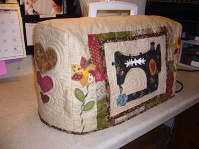 Linda capa para máquina de costura