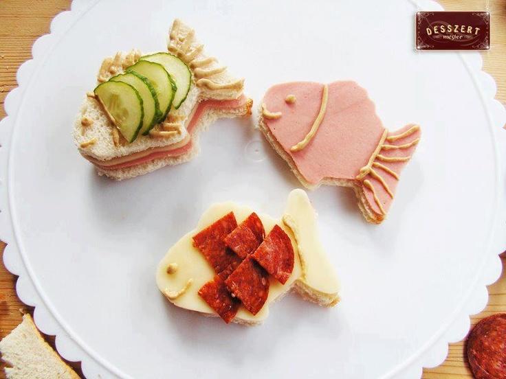 Comida para ni os gourmet pinterest fish funny food for Comidas rapidas para ninos