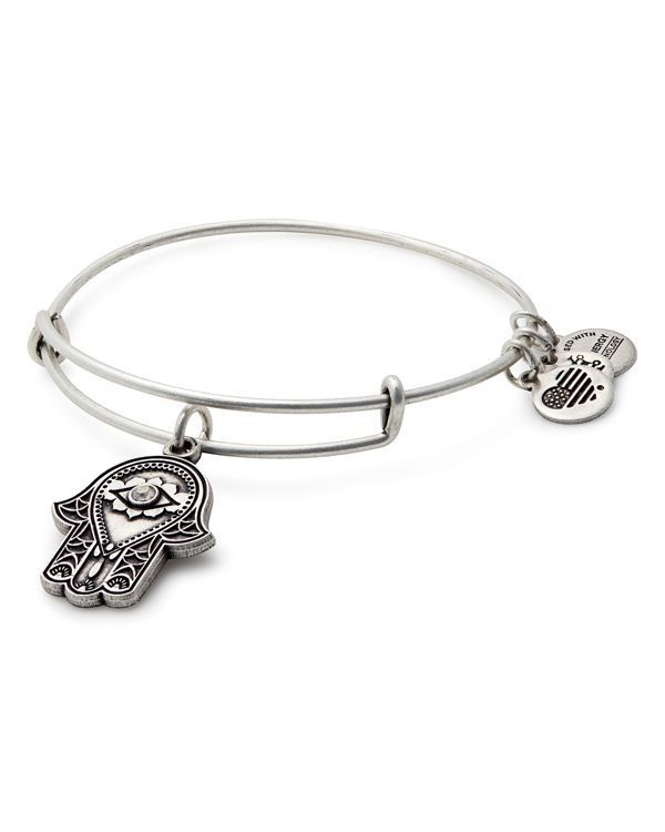 Alex and Ani Hand of Fatima Expandable Wire Bangle in 2019