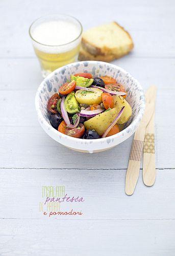 summer potato salad www.pane-burro.blogspot.it