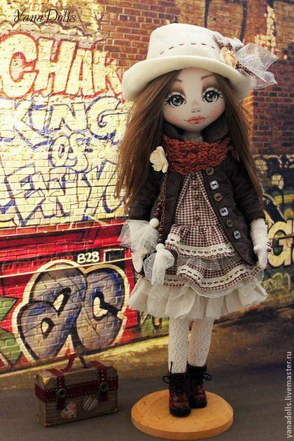 Cortni - рыжий,кукла,кукла ручной работы,кукла в подарок,кукла интерьерная
