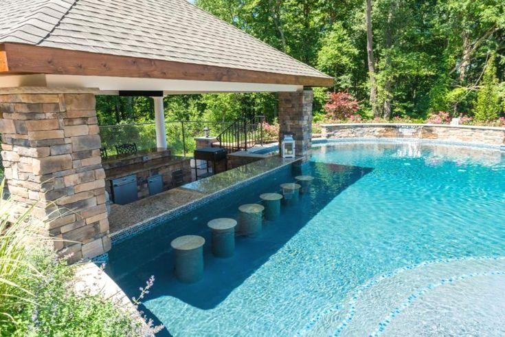 Great Big Landscaping Gunite Pool Cost Swimming Pools Backyard Backyard Pool
