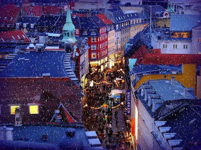 Copenhagen, Denmark, Christmas