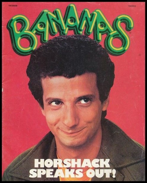 Issue #12 Bananas Magazine with Ron Palillo on the front cover.