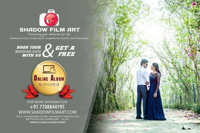 Every #wedding has a beautiful beginning,  Cherish your moments of #love❤️ with us!  Book your wedding date with us and get a #free online #album!  Outsource with us! +91 7708844995 © www.shadowfilmart.com  http://sng.me/8tk