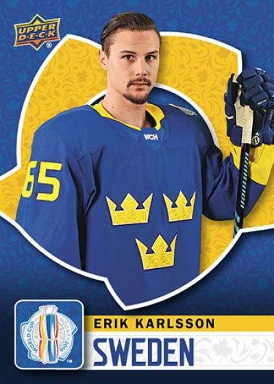 World Cup of Hockey Erik Karlsson Base Team Sweden