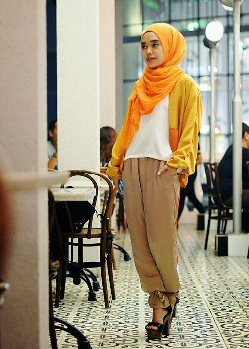 puput utami ♥ Muslimah fashion & hijab style