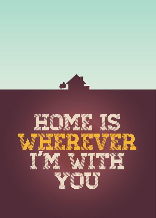 Chris Hannah - Edward Sharpe & Chris Hannah 'Home' postcards - Chris Hannah Art Director